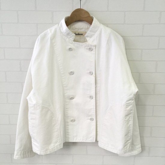 SARAHWEAR - コックジャケット(製品染め)