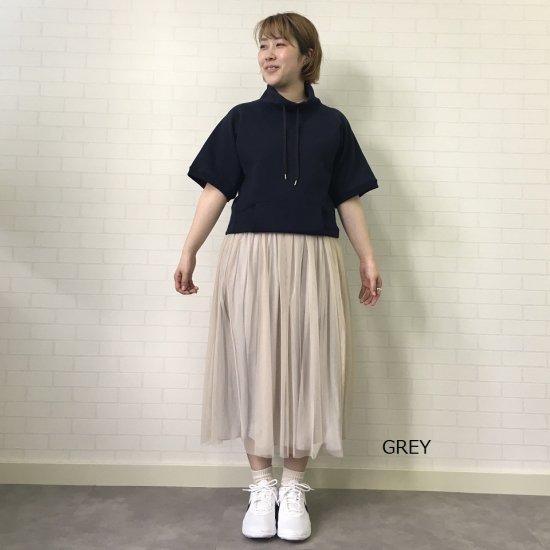 dolly sean - チュール×サテンリーバーシブルスカート(ミドル丈)