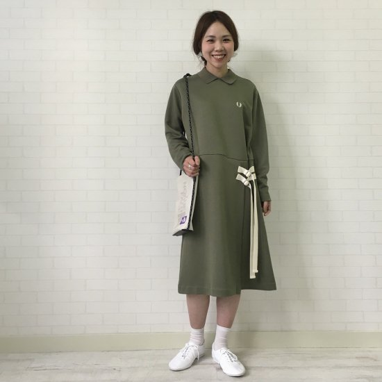 FRED PERRY - L/S JERSEY DRESS