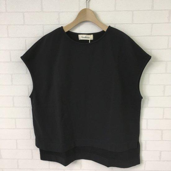 SARAHWEAR - LightSweat 製品染め フレンチスリーブTシャツ