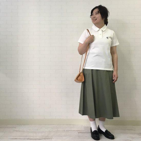 Crespi - コットンリネン ラップ風スカート