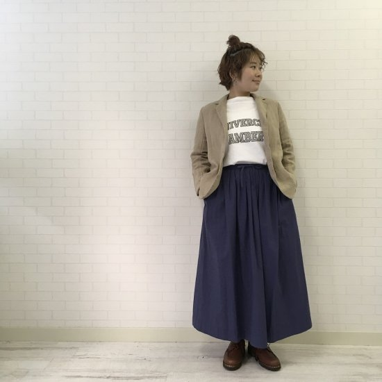 SARAHWEAR - ヘビーリネン テーラードジャケット