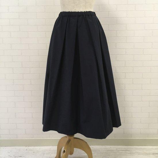 Crespi - コットンナイロン 定番タフタスカート(ロング丈80cm)