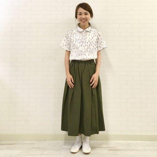 J.sloane - 小さいレギュラカラーのシンプルなシャツ(リバティシリーズ)