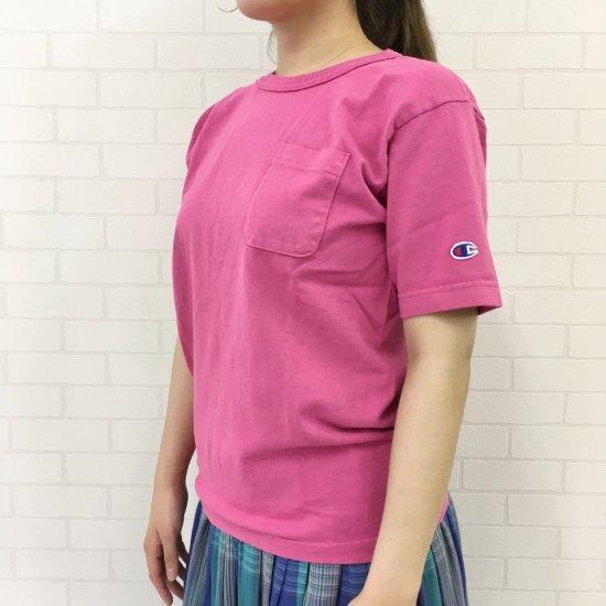 Champion - Tシャツ T1011(ティーテンイレブン) ポケット付き US Tシャツ  (C5-R305)