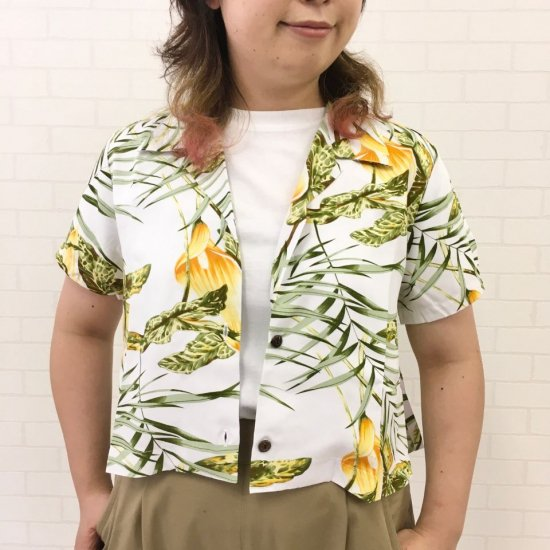TOW PALMS - Hawaiian Shirt/Rayon Short Custom