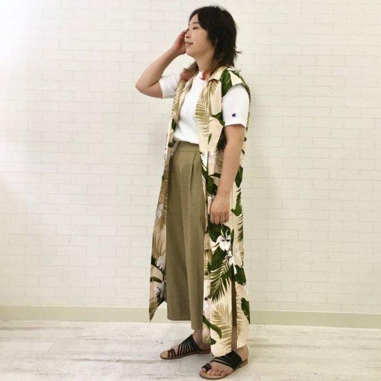TWO PALMS - Womens N/S Hawaiian Dress/Rayon Custom