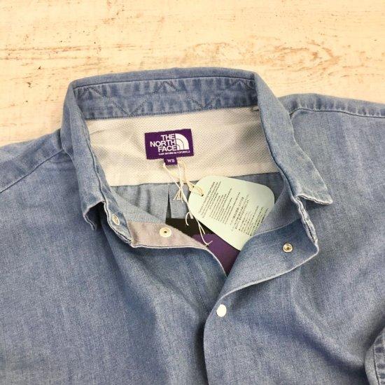 THE NORTH FACE PURPLE LABEL - Light Denim Shirt (NTW3068N) 正規取扱品