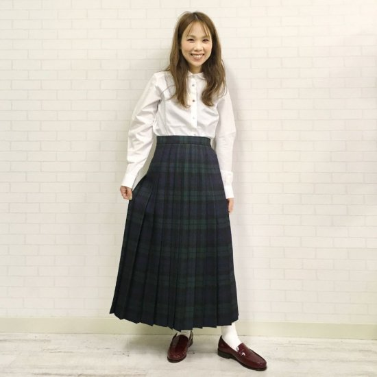 O'neil of Dublin - 総プリーツ 83cm丈スカート 正規取扱商品
