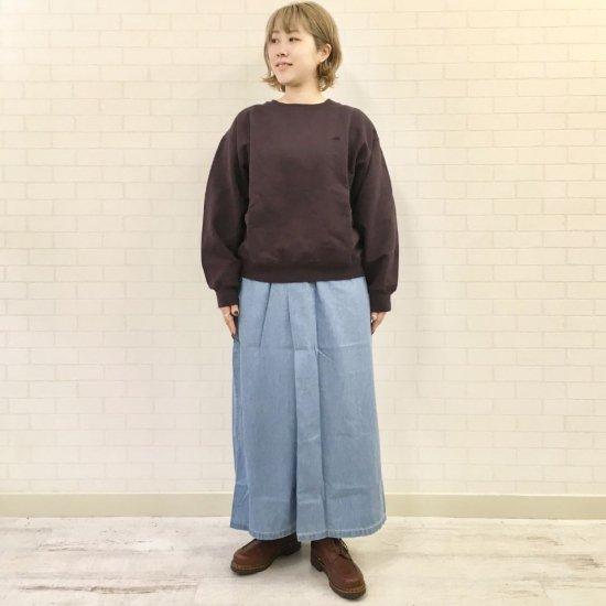 THE NORTH FACE PURPLE LABEL - Light Denim Wrap Skirt (NTW5057N) 正規取扱商品