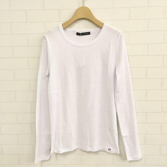 PONT DE CHALONS - クルーネック長袖Tシャツ