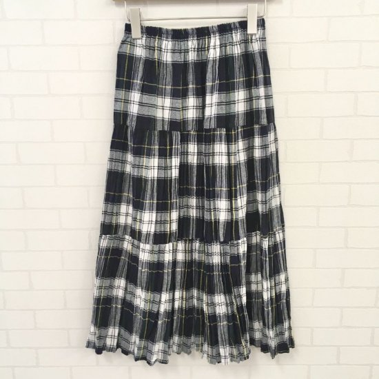 Rockmount - コットン定番チェック 3段ティアードスカート(rockmount9948) 正規取扱商品