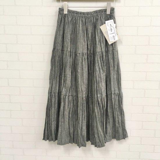 Rockmount - コットンフランネル千鳥格子 3段ティアードスカート(rockmount9948) 正規取扱商品