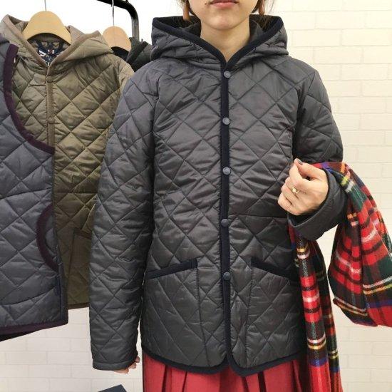 LAVENHAM - NEWクレイドン フード付キルティングジャケット(NEW CRAYDON) 正規取扱商品