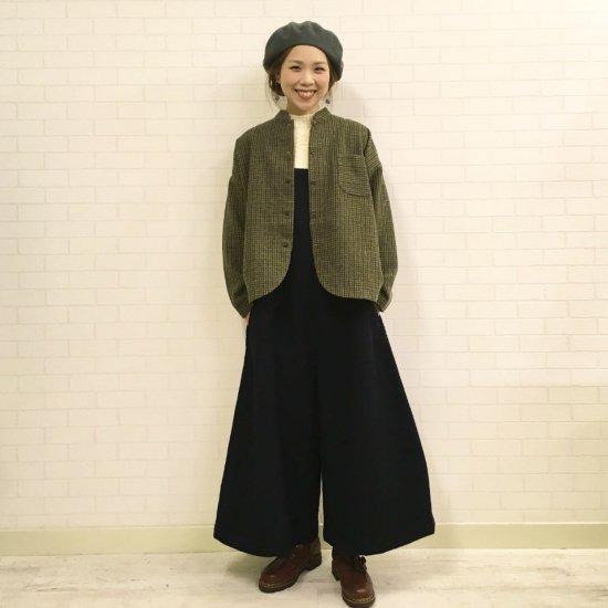 SARAHWEAR - Wool Tumbler Tweed Jacket ツィードチェックジャケット(C52666)