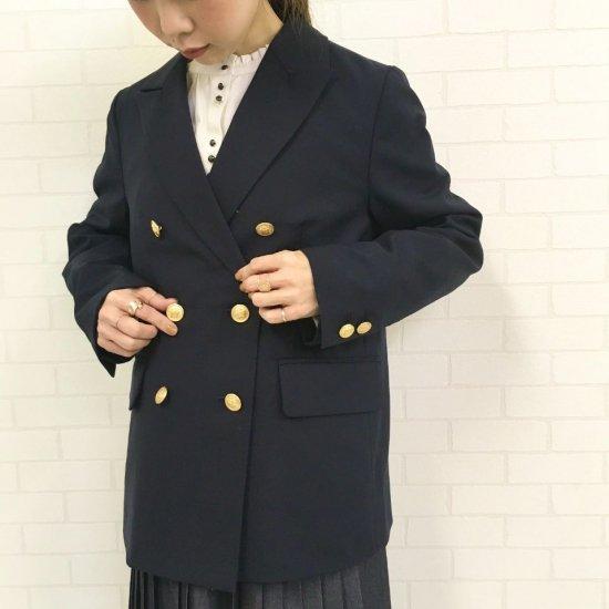 CHILD WOMAN - WOOLトロ W釦ジャケット(正規取扱品)