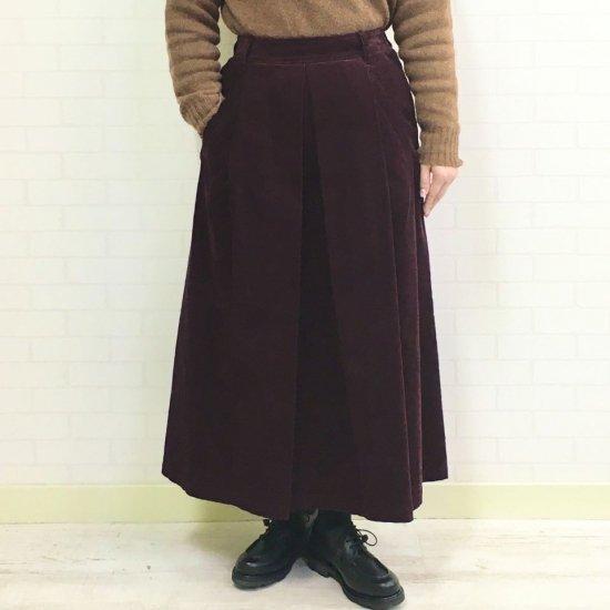 aqua fits - コーディロイ Aラインスカート(CWARS0083-02)