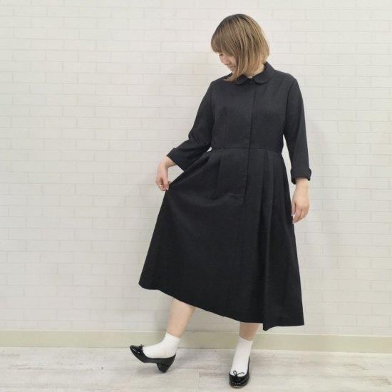 SARAHWEAR - サテンバウワーバー 丸衿ドレス ワンピース (C71095)