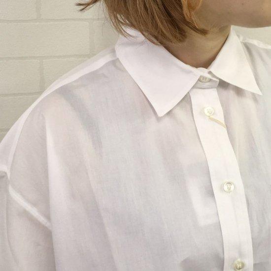 SARAHWEAR - Boyfriend Shirt Solid (C52694)