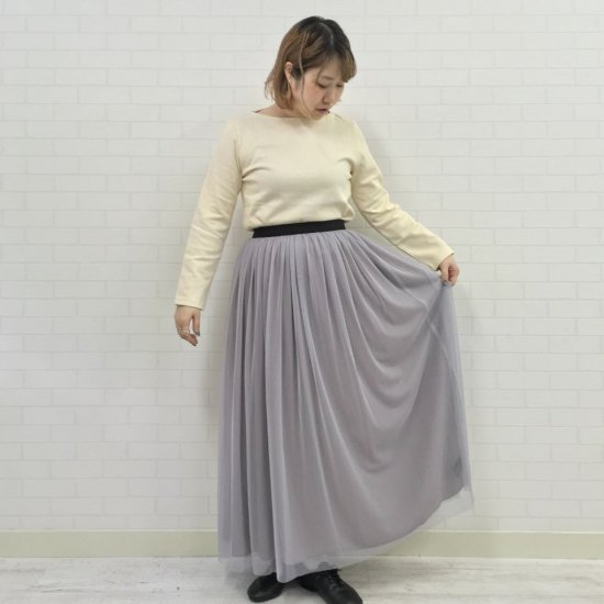 dolly sean - チュール×サテンリーバーシブルスカート