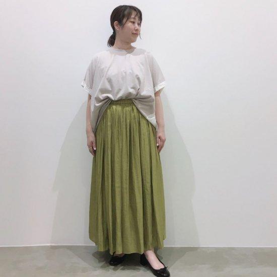 DONEEYU - ヴィンテージサテン ギャザースカート