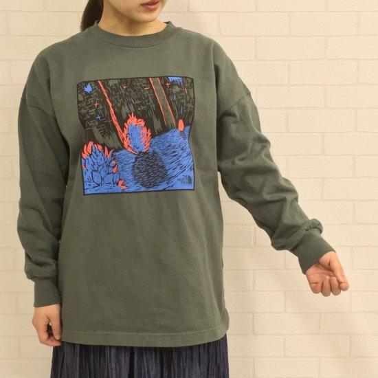 THE NORTH FACE PURPLE LABEL - 8oz L/S Graphic Tee 長袖Tシャツ グラフィックTシャツ(NT3106N) 正規取扱商品