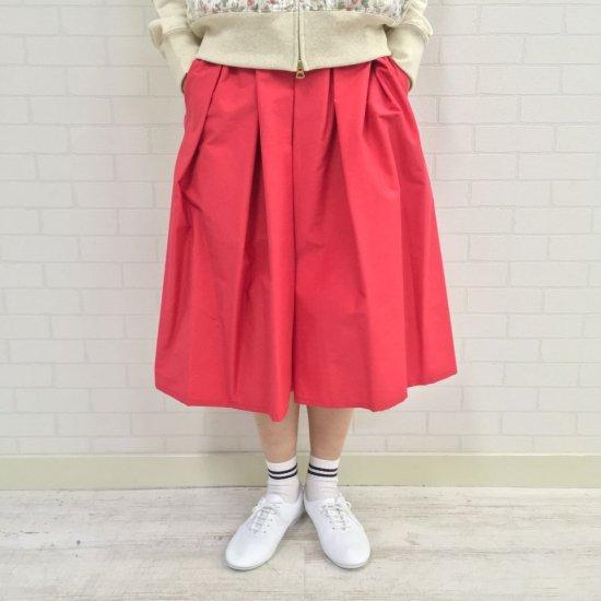 Crespi - 67cm丈コットンナイロン グログランプリーツスカート(504-7801-21s)