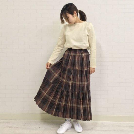 Rockmount - コットンチェック3段ティアードスカート(正規取扱商品)