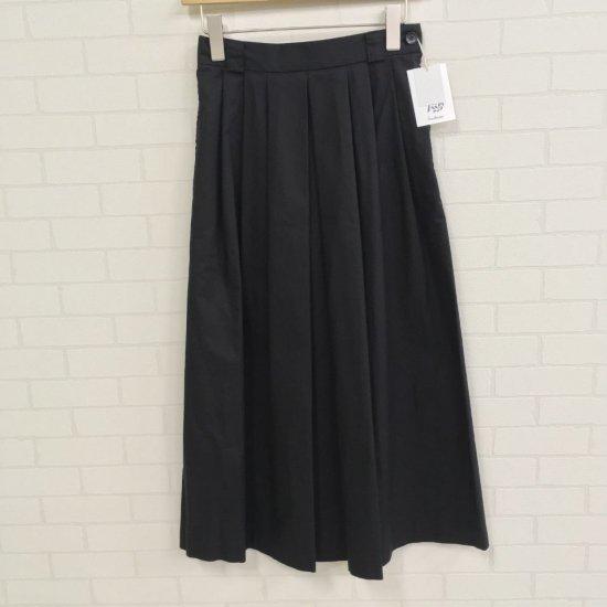 SARAHWEAR - Cotton Tencel インバーテッドプリーツスカート(C21666)
