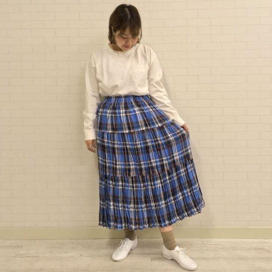 Rockmount - リネンマドラスチェック 3段ティアードスカート(正規取扱商品)