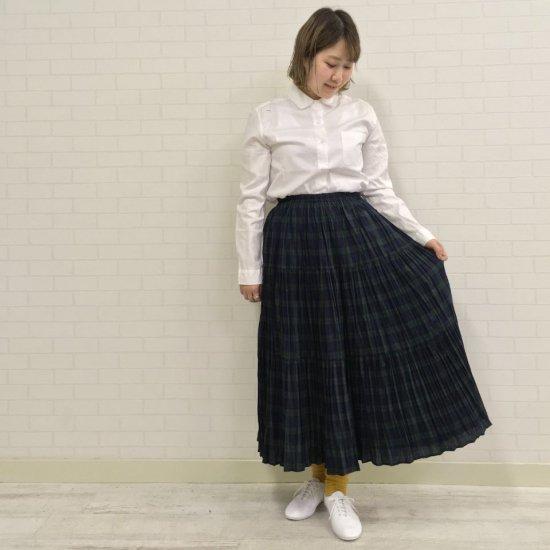 Rockmount - コットン ブラックウォッチ 3段ティアードスカート(正規取扱商品)