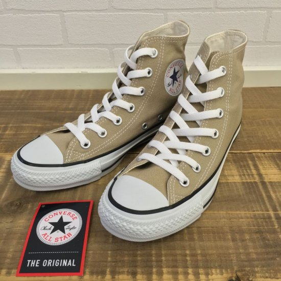 CONVERSE - CANVAS ALL STAR COLORS HI(ハイカット) 1CL128(Beige) 正規取扱商品