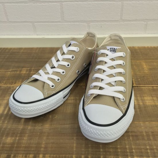 CONVERSE - CANVAS ALL STAR COLORS OX(ローカット) 1CL129(Beige) 正規取扱商品