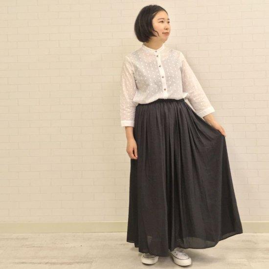 DONEEYU - ヴィンテージサテンマキシレングスギャザースカート