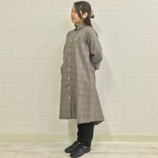 FRED PERRY - SHIRT DRESS(F8608)正規取扱商品