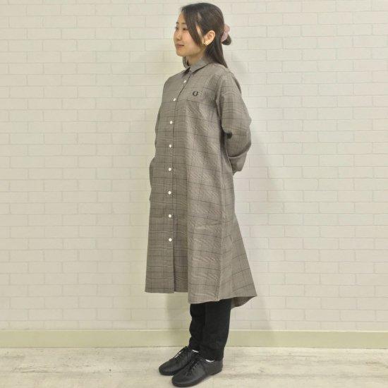 FRED PERRY - SHIRT DRESS(F8608)正規取扱商品