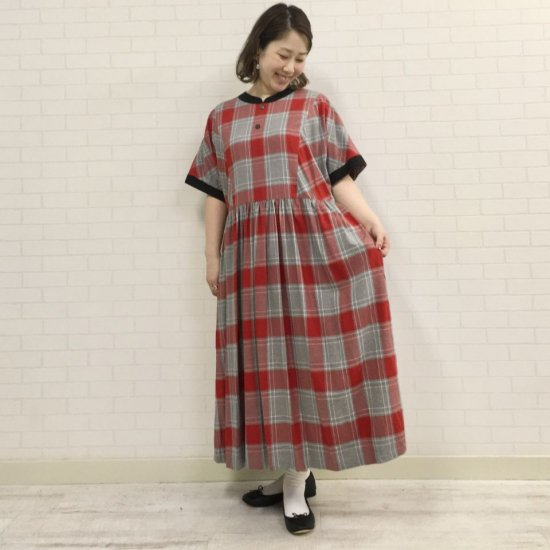 SARAHWEAR - 50's Dress Rayon Check(C71108)