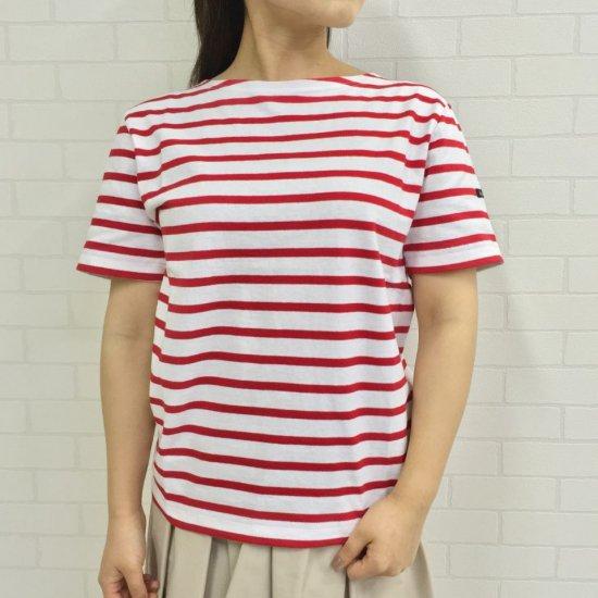 Le minor - 定番 薄手 半袖 総ボーダー バスクシャツ(LEF211007)正規取扱商品