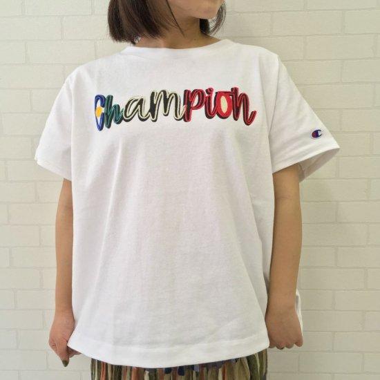 Champion - ヘビーウェイト ロゴ刺繍 ショートスリーブ ビッグTシャツ(CW-T309)正規取扱商品