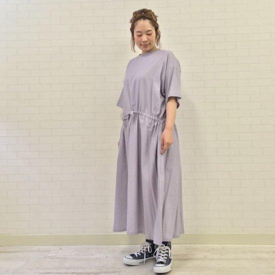SARAHWEAR - Cotton/Rayon Viyella Drawstring Dress(C71119)
