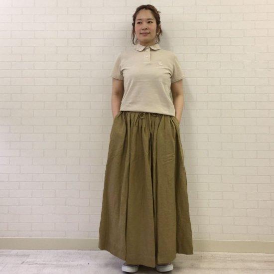 SARAHWEAR - Kanako Lyocell Linen ドロストタックスカート(C21585)