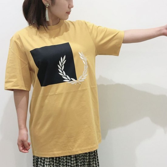 FRED PERRY - PRINTED GRAPHIC T-SHIRT(G1154)