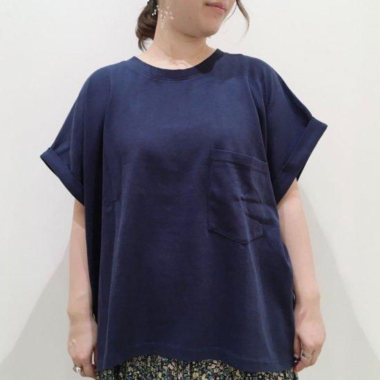 Sheth - ポケット付ワイドTシャツ(1111041)