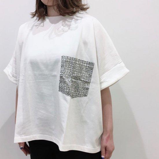 Sheth - USAコットン リバティポケット付のビックTシャツ(1113023)