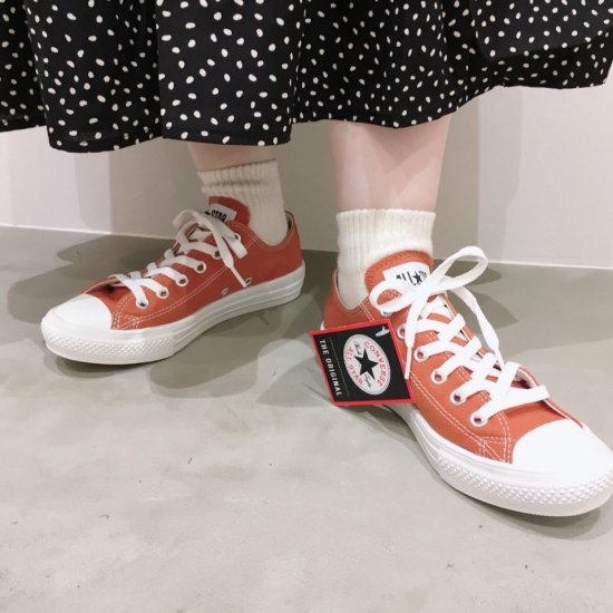 CONVERSE - ALL STAR LIGHT OX(ローカット)31304860(BR),31304861(OR) 正規取扱商品