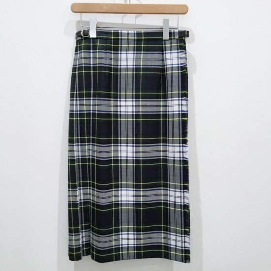 O'neil of Dublin - 両脇ベルト 後プリーツスカート(CH73cm丈)正規取扱商品