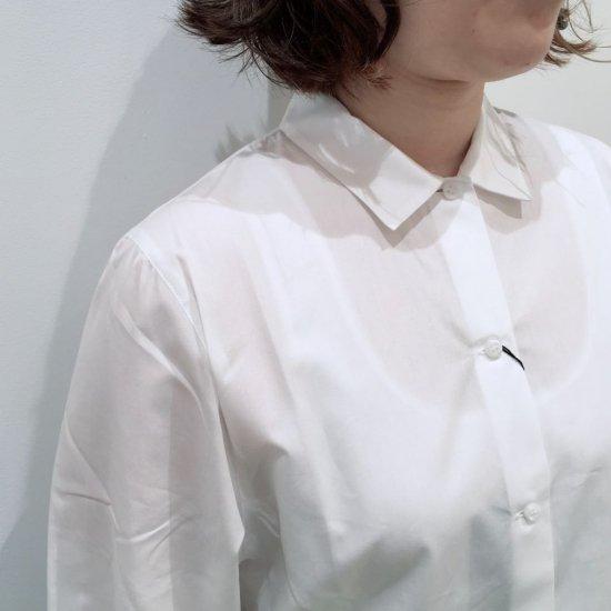 SARAHWEAR - コットンブロードプチカラーシャツ (C52744)