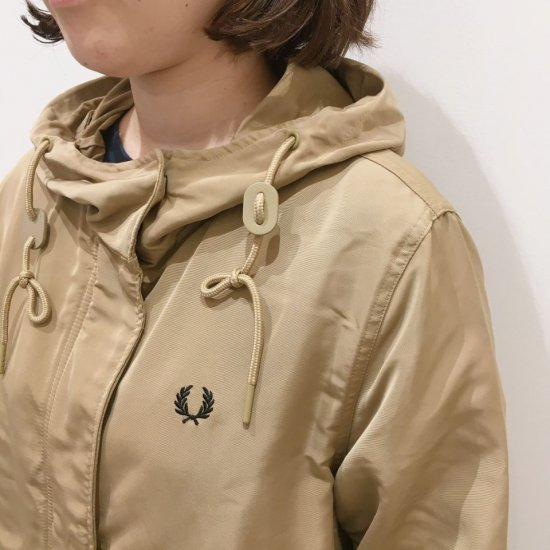 FRED PERRY - SNAP DETAIL PARKA (J2104) 正規取扱商品