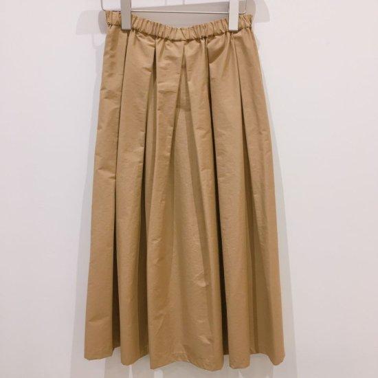 Crespi - 80cm丈コットンナイロン グログランプリーツスカート