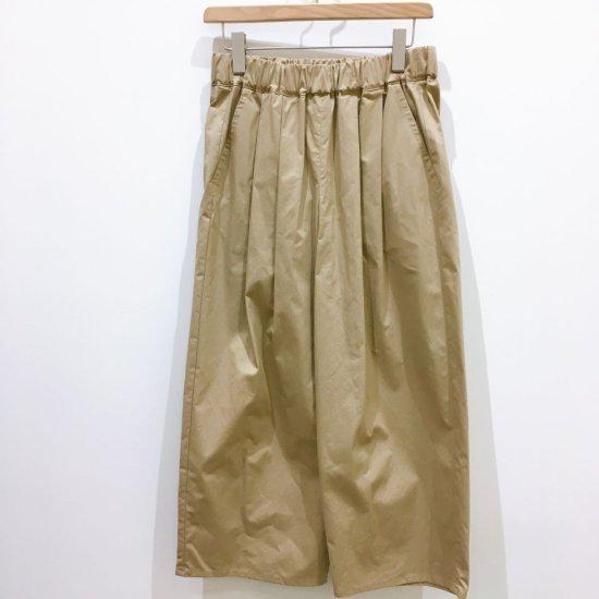 Le minor - 綾ダンプ ワッシャーのテーパードパンツ(EL36103)